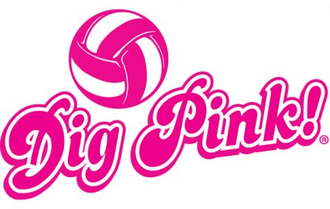 "Girls volleyball wins in ""Dig Pink"" game"