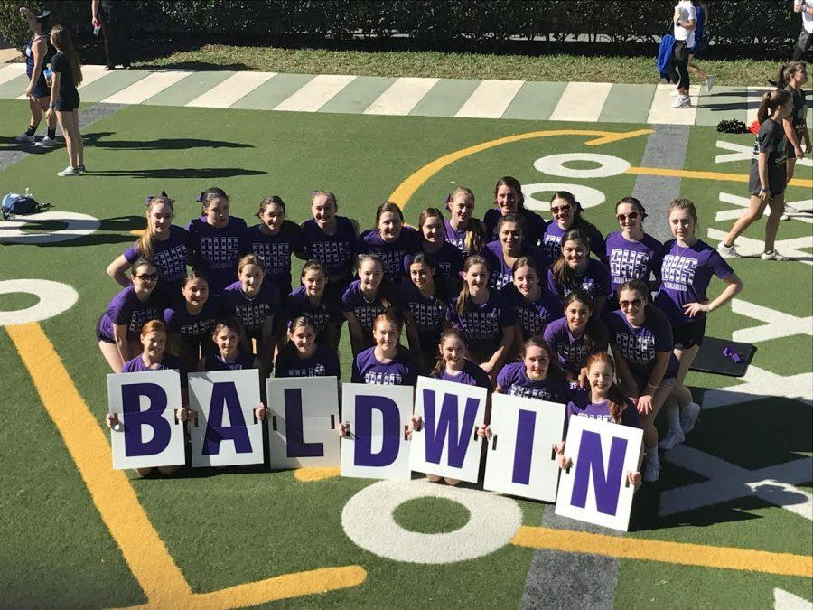 Cheer team ranks 12th in the nation