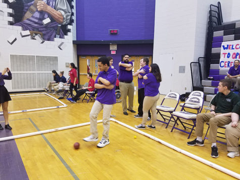 Bocce brings Baldwin together