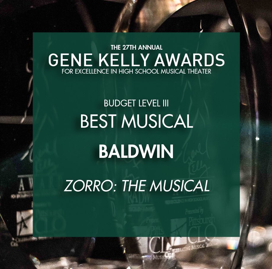 Zorro wins three Gene Kelly Awards
