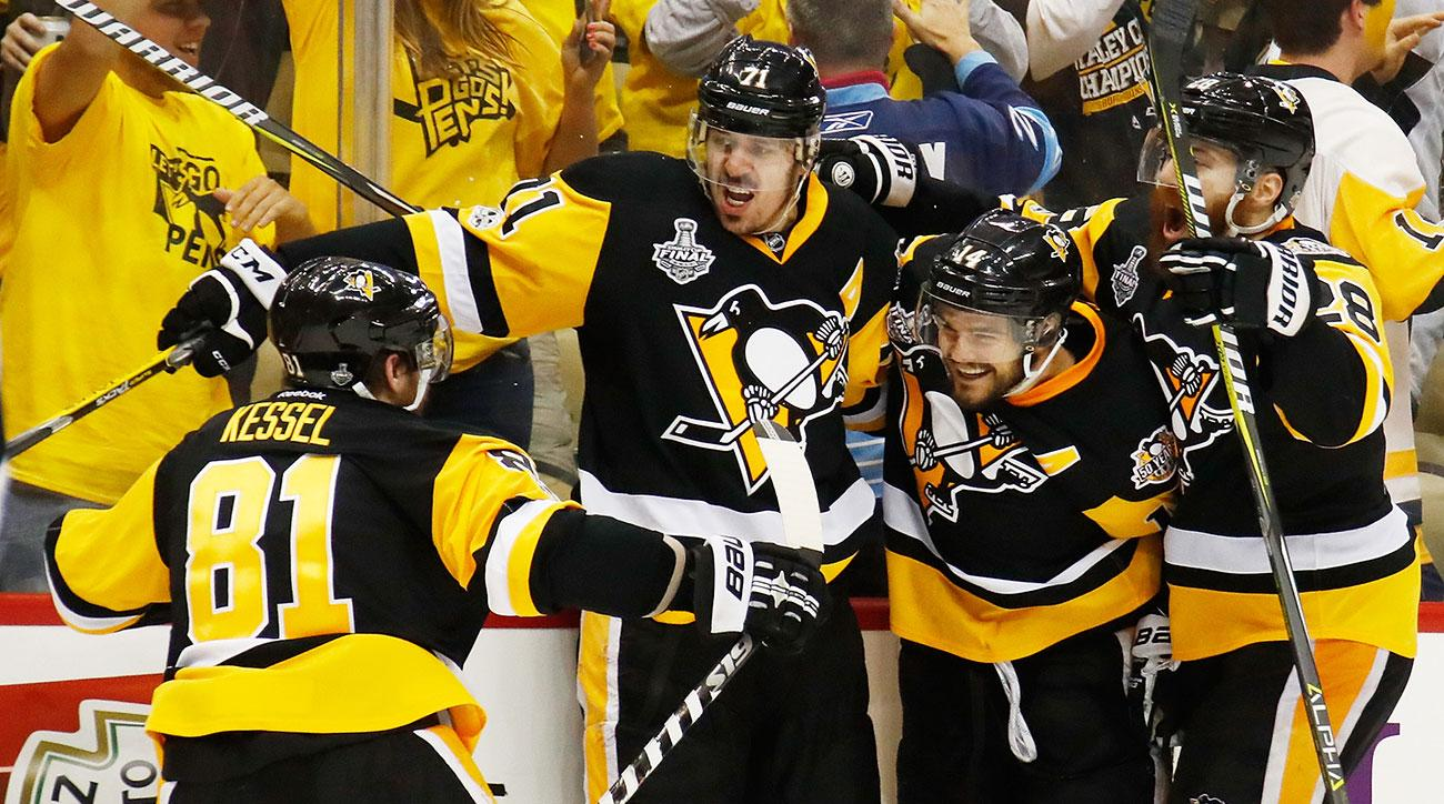 Offensive flurry gives Pens a Game 2 win