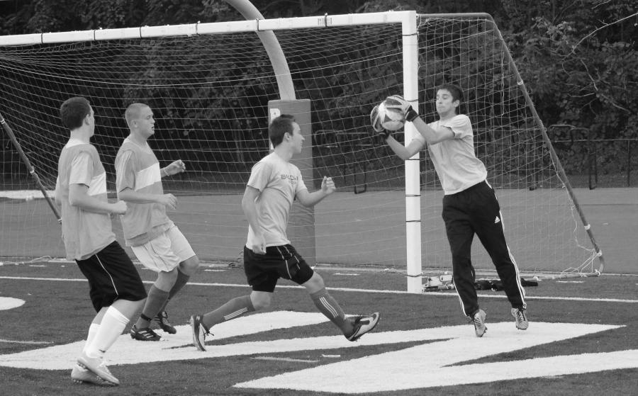 Boys soccer on the rebound