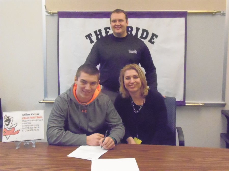 Smorey signs athletic and academic scholarship