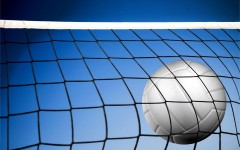 The girls volleyball team lost to Canon-Mac on Thursday night.