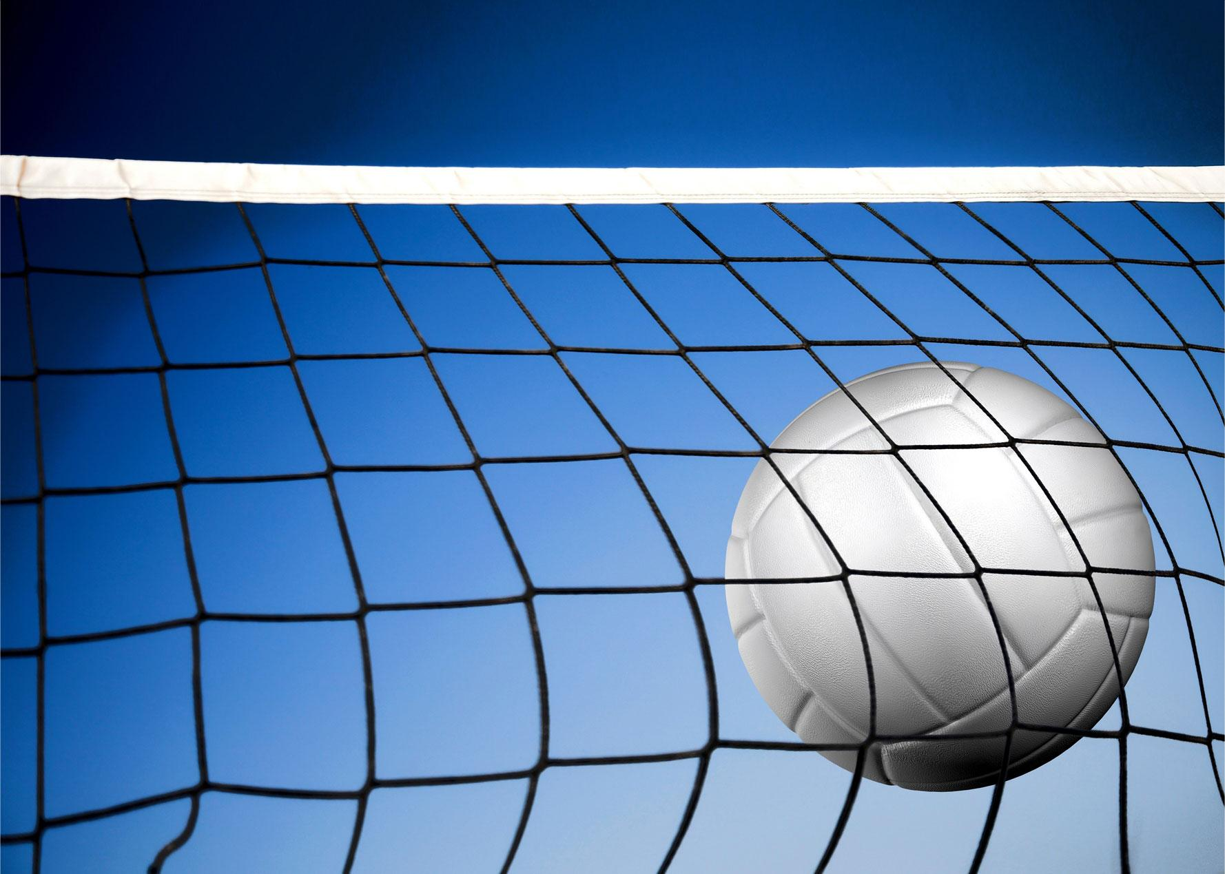 The girls' volleyball team swept Connellsville in the first round of the playoffs.
