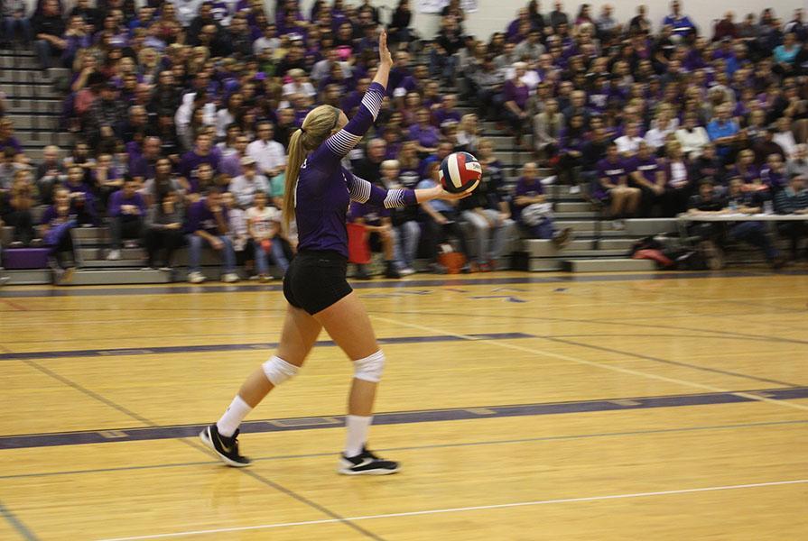 Girls+volleyball+falls+to+Garnet+Valley