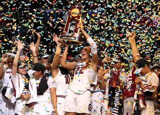 South+Carolina+women%27s+basketball+team+making+history