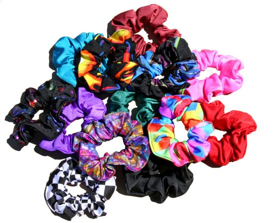 Scrunchies make a comeback