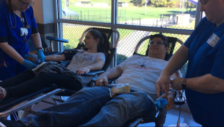 Blood drive allows students to save lives