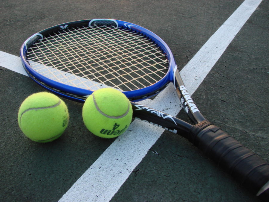 Girl's tennis team continues winning ways against Plum on tuesday.