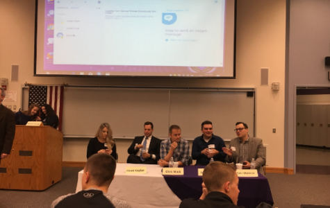 TV, radio, web journalists share stories with students