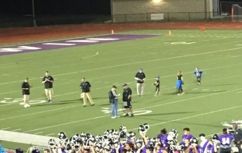 Friday night football games, with performances by the marching band and cheerleaders, are a community tradition.