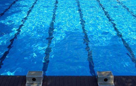 The boys and girls swim teams lost to Elizabeth Forward on Tuesday.