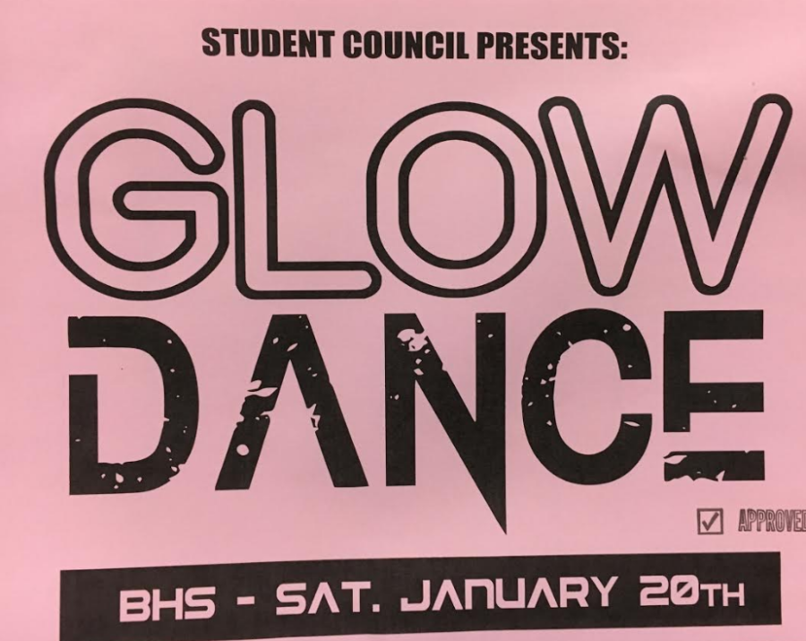 High school preps for second annual Glow Dance