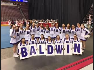 Cheer team places fourth at states