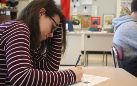 Maris Miller balances four language courses