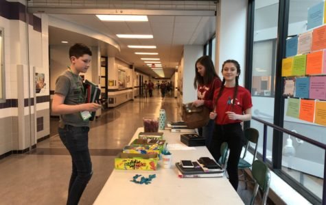 Key Club sells candy for sexual assault awareness
