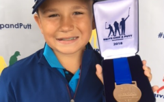Fourth grader Michael Quallich had the opportunity to play at the famed Augusta Golf Course