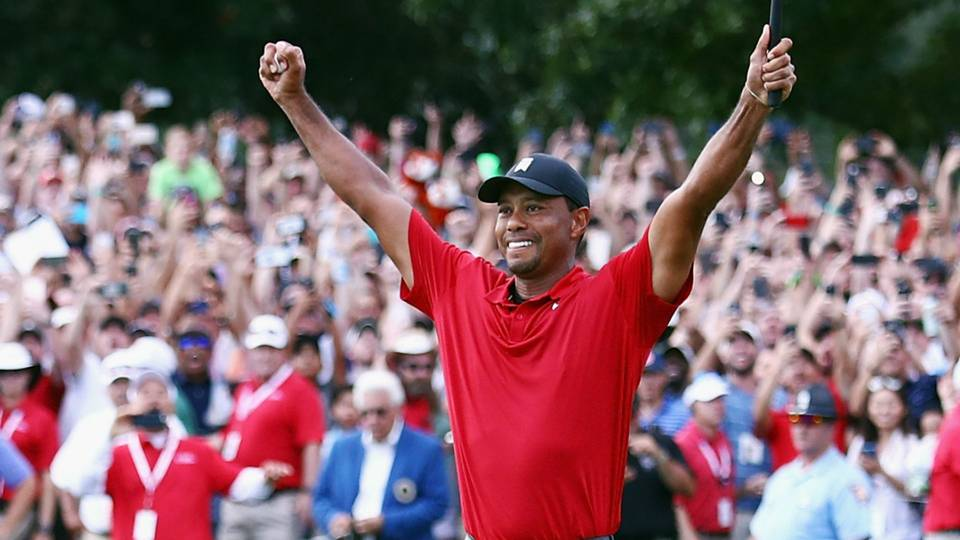 At just 19, Woods made his name known on the professional landscape as he participated in his first PGA tour and walked away with the PGA Rookie of the Year.