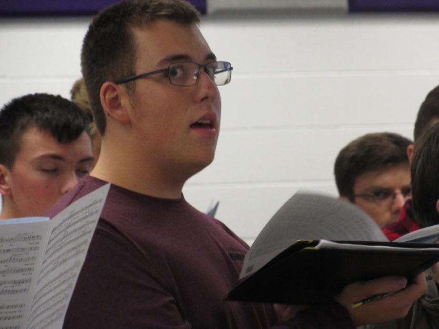 Boys PMEA choir rehearses