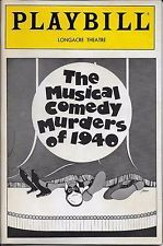The fall play this year is The Musical Comedy Murders of 1940.