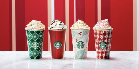 This holiday season, Starbucks came out with four cups, all with fairly generic holiday themes, keeping the controversy to a minimum.