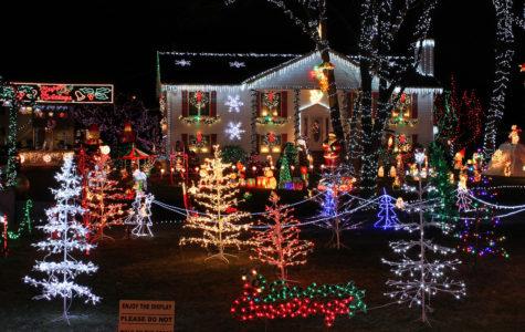 The 15 School Days of Christmas: Christmas lights evolve