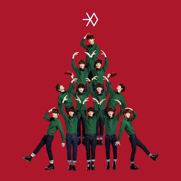 EXO is one of several K-pop artists to release holiday songs on their album,