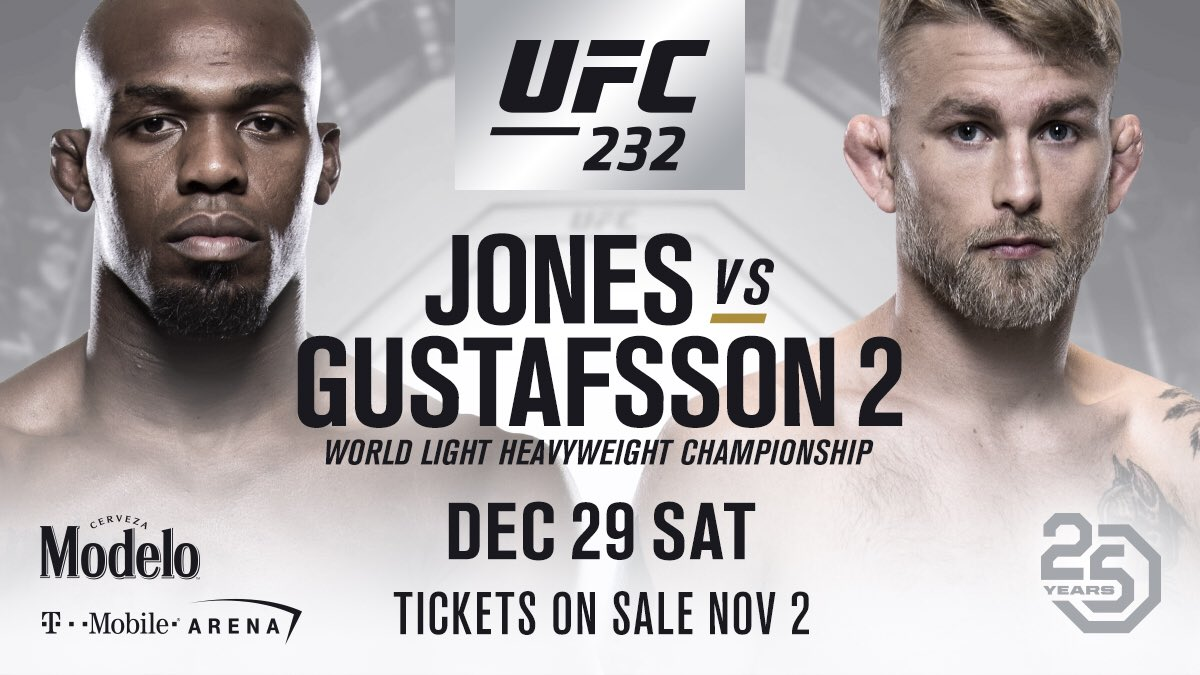 Jones vs Gustafsson 2 is set to be an amazing rematch.