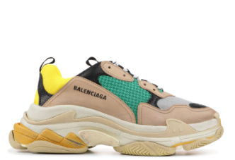 "Welcome to the the ""dad shoe"" trend in the streetwear community. Some examples of these shoes are the Yeezy Boost 700, the Balenciaga Triple S Trainer, and the Puma Thunder Spectra."
