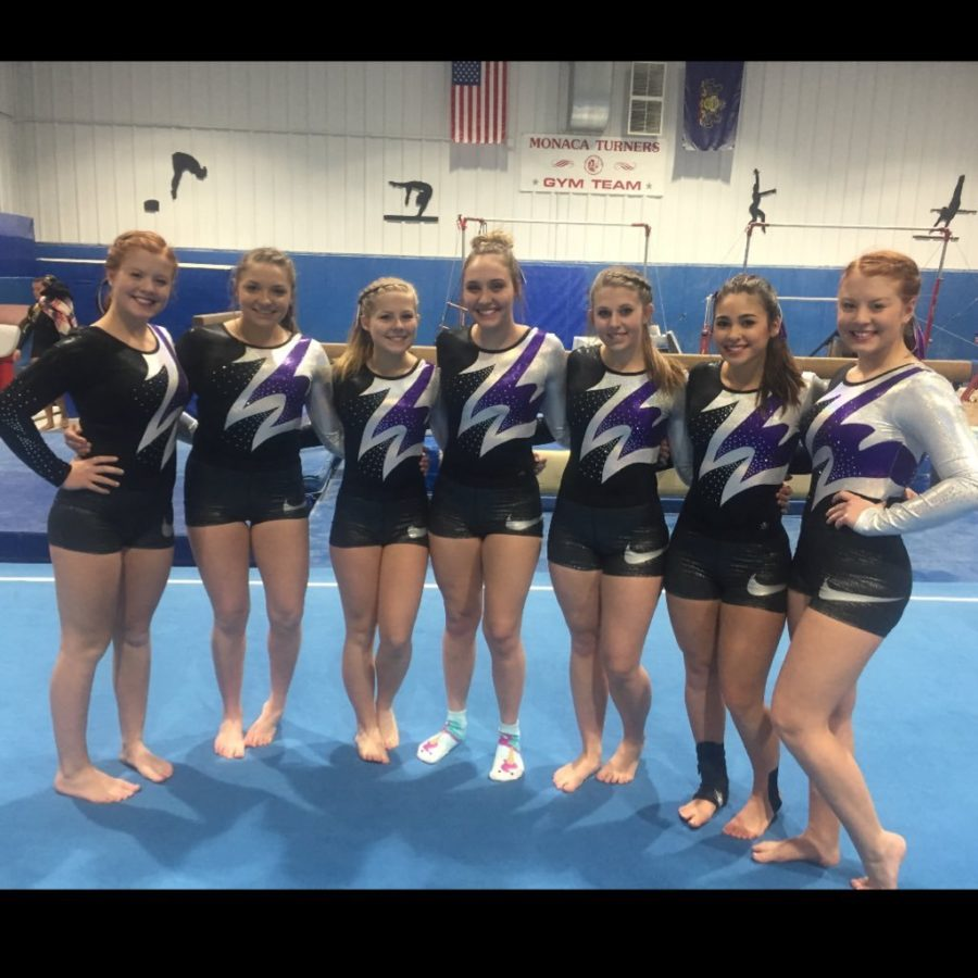 Girls+prepare+for+their+competition.+