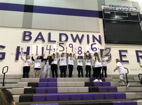 Students enjoy Baldwin Bean