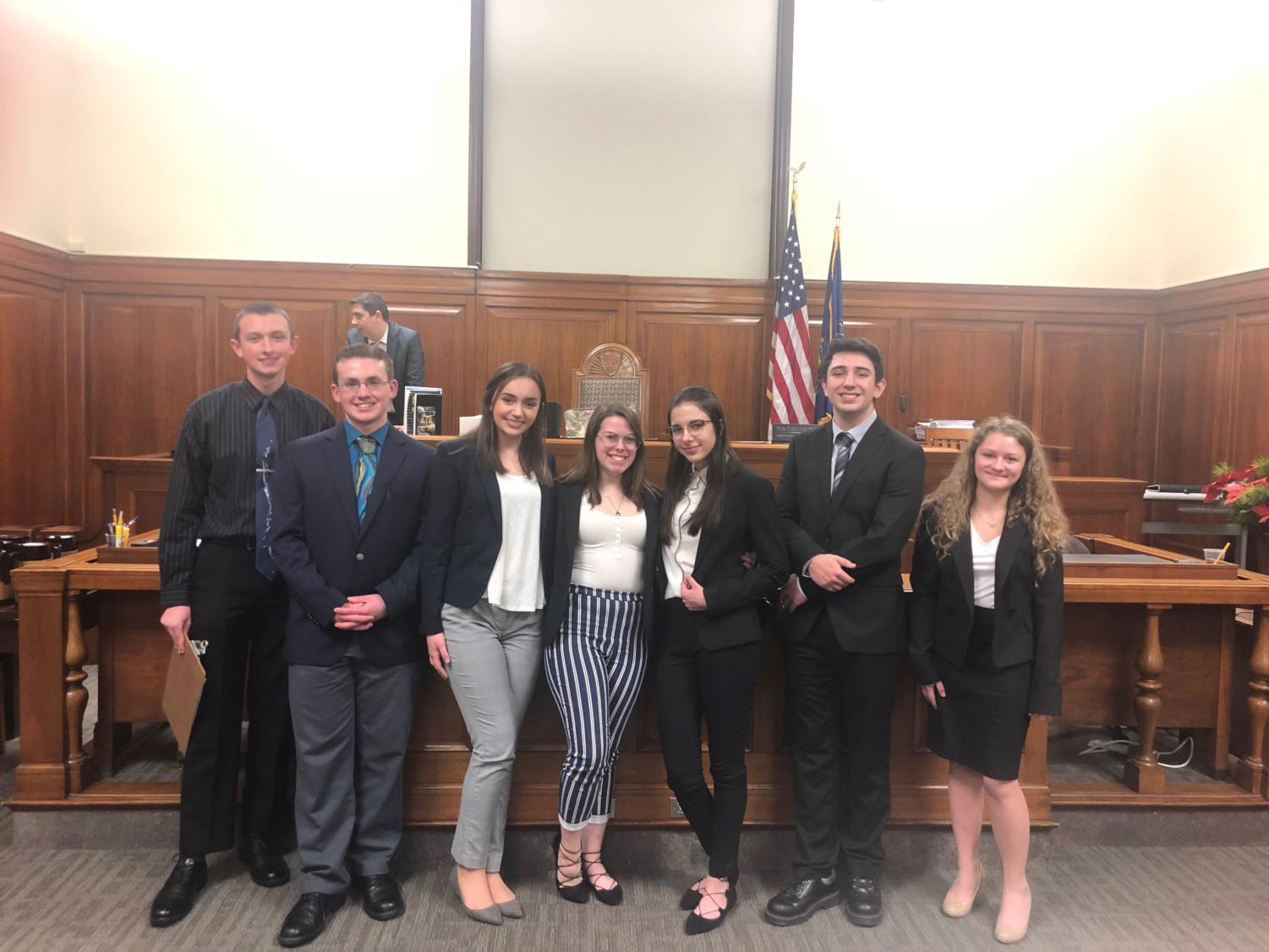 The opioid epidemic is the focus of the fictional court case for this year's mock trial team.