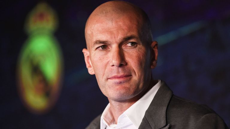 Zinedine+Zidane+has+been+rehired+by+Real+Madrid%2C+he%27ll+look+to+succeed+in+his+second+term.