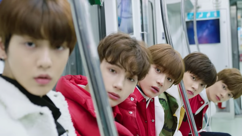 New five-member group, Tomorrow X Together,   makes their debut in the K-pop industry.