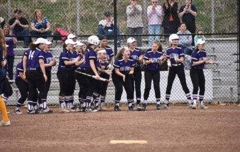 Girls softball team comes out on top against Mt. Lebanon