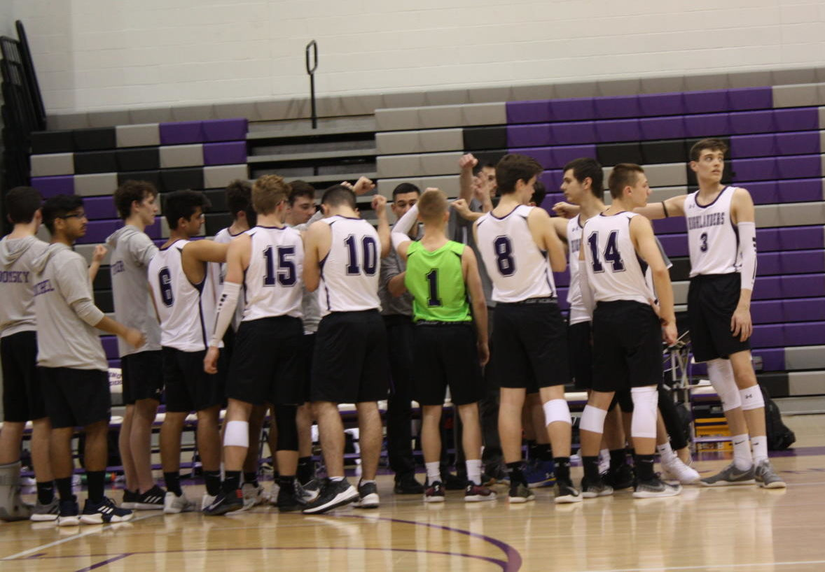 Seniors Austin Bechtold and Nick Pouch reflect on their time playing for Baldwin volleyball.