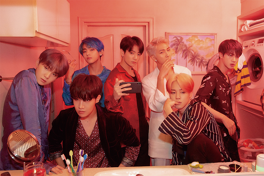BTS+become+even+more+international+with+their+new+album+featuring+unique+sounds+and+collaborations.