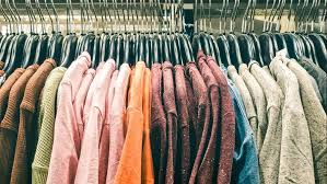 In addition to thrifting in person, there are several online thrift stores that are good options when buying used clothes.