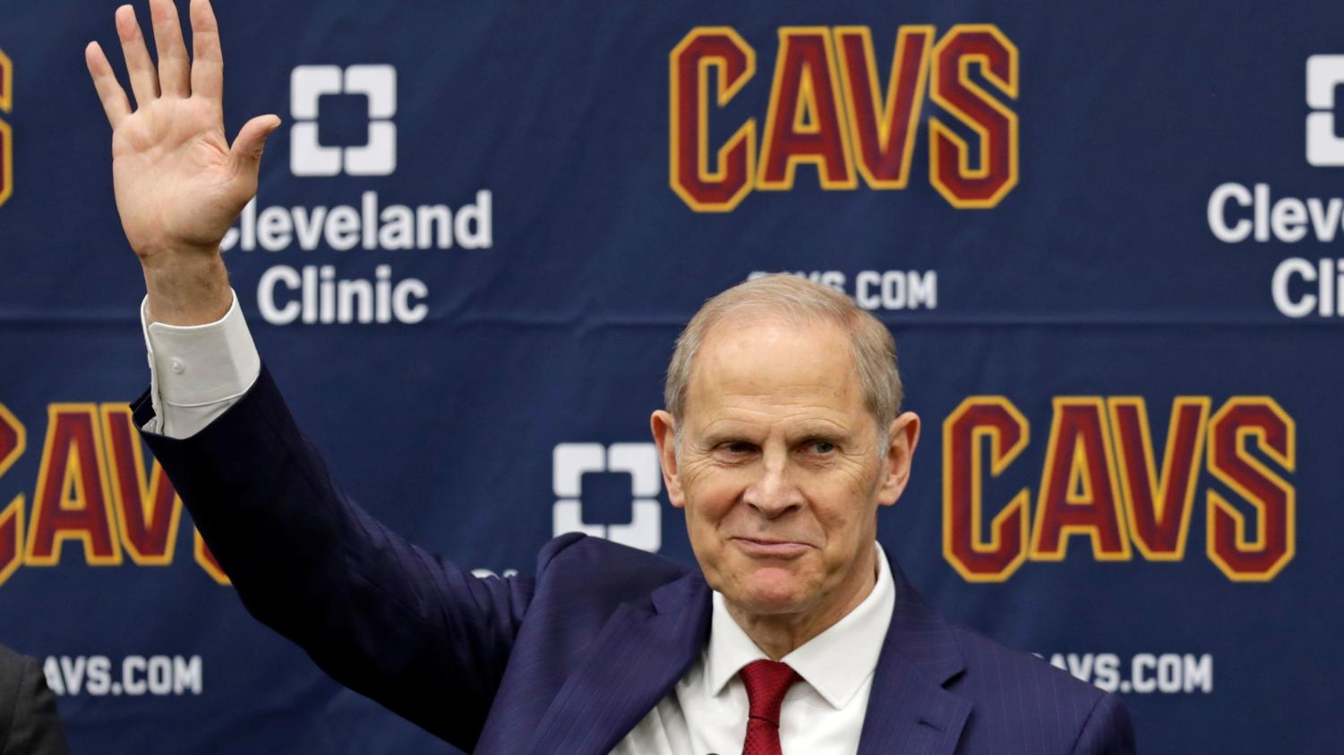 John Beilein has been named the newest coach for the Cleveland Cavaliers