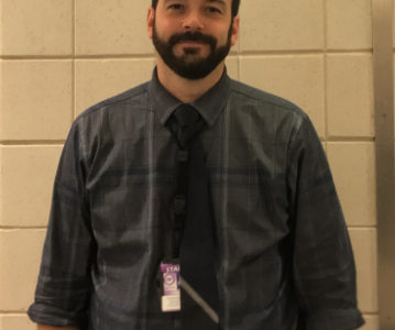 Brad Schulte honored by former student