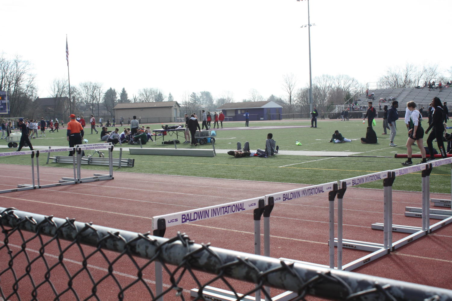 Members of the Baldwin track team ended their season with a strong states performance.