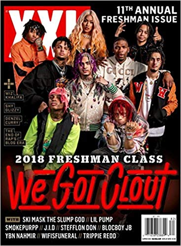 """XXL magazine is a hip-hop publication that releases an annual """"Freshman Class"""" list that features 10 artists to watch, who all appear on the cover of the magazine."""