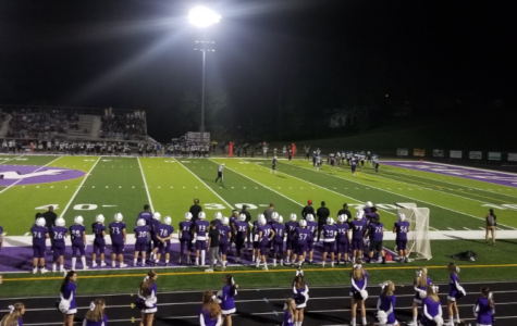 Football team puts themselves in good playoff position with big shutout win