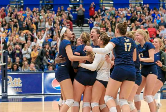 Pitt's women's volleyball team is currently ranked No. 2 in the NCAA, with just one loss on the season. This is the highest ranking in the program's history and the highest ever by an ACC team.