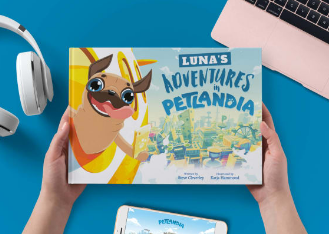 Petlandia custom picture book