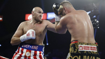 Tyson Fury's story is inspirational, and his performance inside the ring is transcendent.