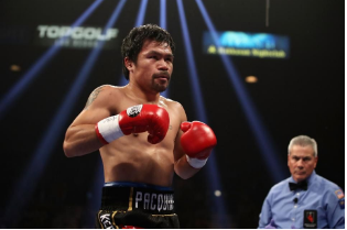 Manny Pacquiao has been a class act his entire career, and continues to produce at a high level while also serving his country.