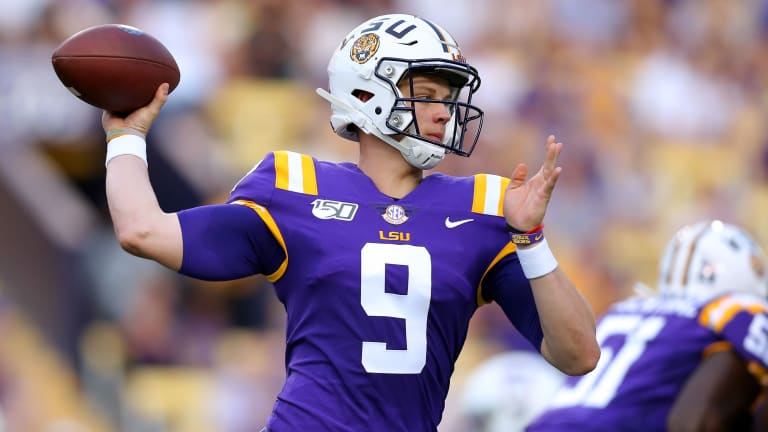 Multimedia Editor  Jaiman White thinks Joe Burrow and LSU's high powered offense will shine in the bayou.