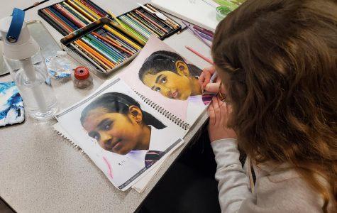 Portrait project draws on student compassion